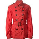 Burberry Brit Belted Short Trench Coat