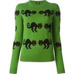 Jil Sander Navy Monster Intarsia Sweater