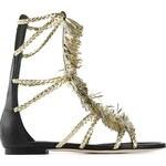 Visconti Et Du Reau Tasseled Gladiator Sandals