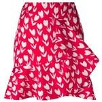 Emanuel Ungaro Tulip Print Skirt