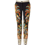 Etro Stretch Cotton Printed Pants