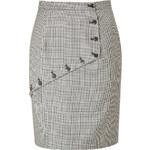 McQ Alexander McQueen Button Embellished Skirt