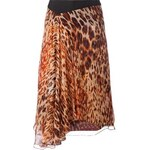 Bouchra Jarrar Animal Print Skirt