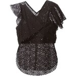 Isabel Marant Short Sleeve Perforated Top