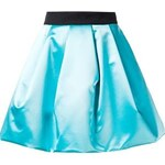 Fausto Puglisi Pleated A-Line Skirt