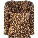 Yves Saint Laurent Vintage Leopard Top