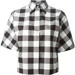 Dolce & Gabbana Cropped Check Shirt