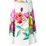 P.A.R.O.S.H. 'Caty' Floral Print Skirt