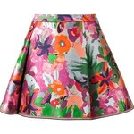 Thom Browne Floral A-Line Skirt