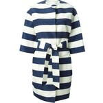 Msgm Striped Coat