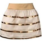 Giorgio Armani Metallic Stripe Skirt