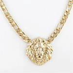 LightInTheBox Fashionable Gold Alloy With Lion Head Pendant Women's Necklaces