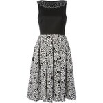 Holly Fulton Floral Print Combo Dress