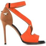 Givenchy Cross Strap Sandals