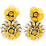 Shourouk Flower Clip-On Earrings