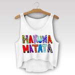 Wayfarer Crop-top tílko Hakuna colors