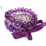 Sada náramků 230871 (1 sada) - 1 fialová purpura Stoklasa