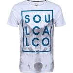 Tričko Soulcal Wolf Box pánské