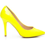 STYLE SHOES Sexy dámské lodičky - žluté