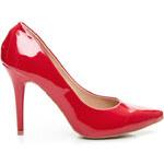 STYLE SHOES Sexy dámské lodičky - červené, vel. 39