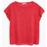 MANGO Leinen-T-Shirt