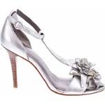 DKNY Dámská obuv na podpatku, B4105028/040_silver