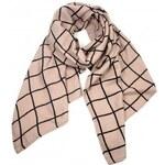 INVUU Dámský tkaný šátek,85x190 cm 14S0939 beige