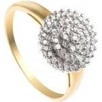 Pretty Solo Dámský prsten, žluté zlato Pretty Solo ring 0 52 0 LZ - R 90007 B/020