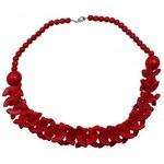 Scalla Dámský náhrdelník Scalla Necklace Red 0 w GW0081_Red