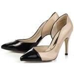Elisabeth Dámská obuv, 959015/01/03_beige-black