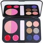 BHcosmetics Forever Glam paleta dekorativní kosmetiky se zrcátkem 22 g