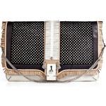Paula Cademartori Leather Sylvia Folk Shoulder Bag