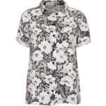 Topshop MOTO Aloha Print Shirt