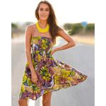 Venca Letní šaty květinový potisk L