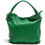 Dámská zelená kabelka se dvěma uchy Roberta Minelli
