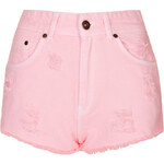 Topshop **Candy Rage Denim Shorts by The Ragged Priest