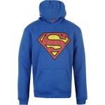 DC Comics Comic Over The Head Hoodie Juniors, superman