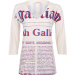 Galliano Dámské tričko, YR773582025_vanille 003