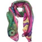 Desigual šátek Actic khaki