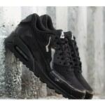 Nike Wmns Air Max 90 Premium Black/ Black- Metallic Silver US 7