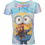 Triko Character Sub T Shirt Infant Girls Minions 7-8 Roků