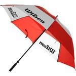 Wilson Dual Canopy Golf Umbrella Red Jedna velikost
