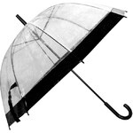 Golddigga Dome Umbrella Clear/Black N