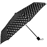 Dunlop Folding Umbrella Black/White N