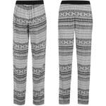 Golddigga All Over Print Woven Pant dámské White/Blk Aztec 8 (XS)