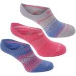 Nike 3pk Graph Sock dámské Pink/Blue 2-5S