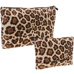 Golddigga Wash Bag Set dámské Leopard N