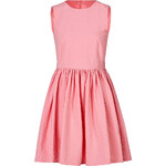 RED Valentino Stretch Cotton Jacquard Dress