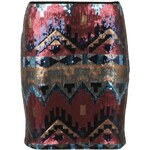 Rock and Rags Sequin Mini Skirt Multi 8 (XS)