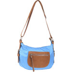 Baťa Modrá kabelka s popruhem